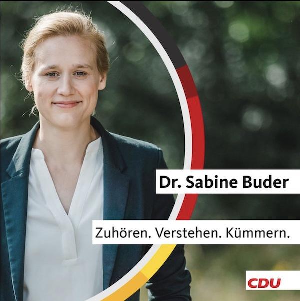 Dr. Sabine Buder - Bundestagskandidatin WK 59